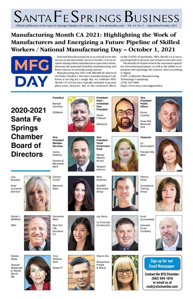thumbnail of September – October 2021 – Santa Fe Springs Chamber Newspaper (2)