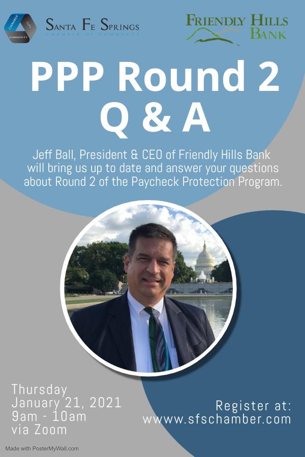PPP Round 2 Webinar